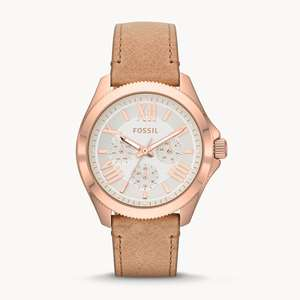 Fossil Cecile Ladies Multifunction Sand Leather Watch now now £52 delivered using code @ Fossil
