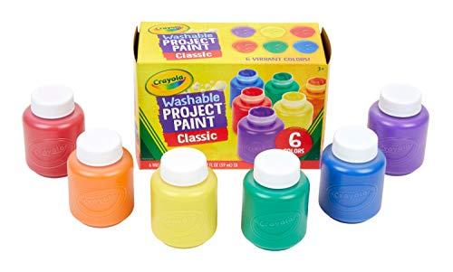 Crayola Washable Kids Paint, Pack of 6 £3.50 @ Amazon (+£4.49 non-prime)