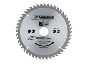 Parkside Circular Saw Blades, £3.99 each @ Lidl (2nd Aug)