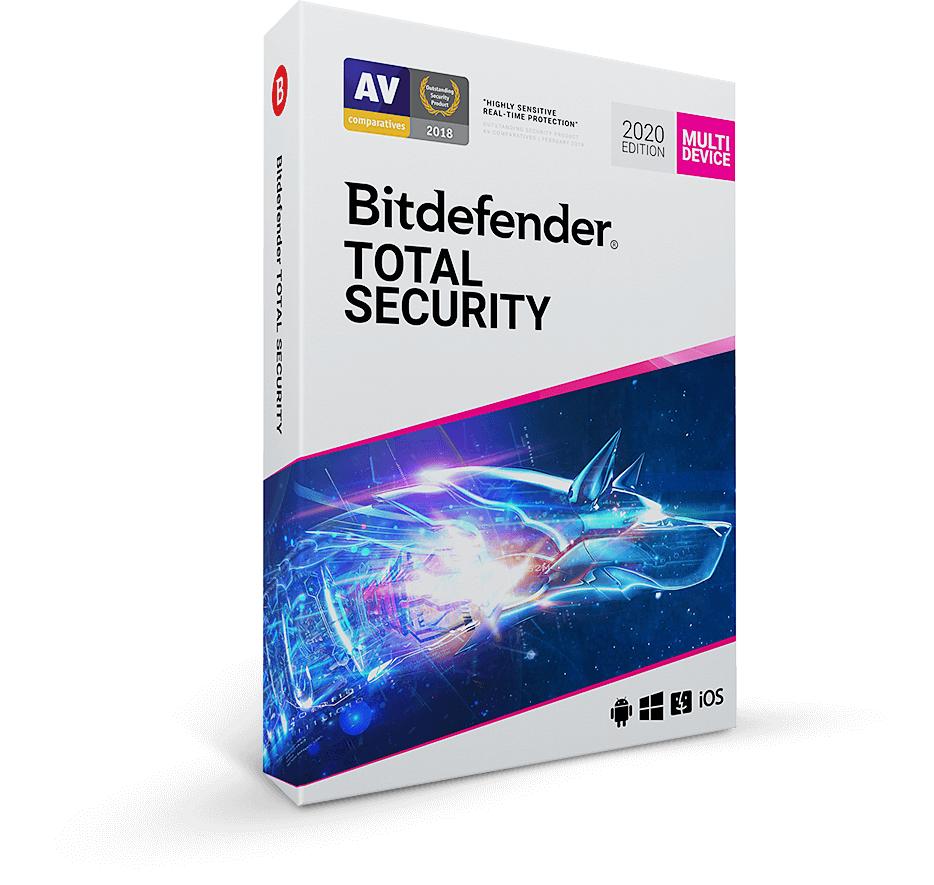Bitdefender TOTAL SECURITY 2020 Free for 90 Days @ Official Bitdefender Website