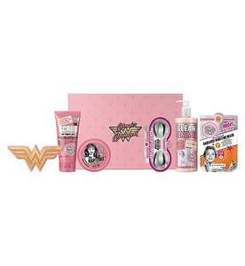 Soap & Glory Wonder Woman Glam-azing Pamper Hamper Gift Set £10 + £1.50 click & collect at Boots