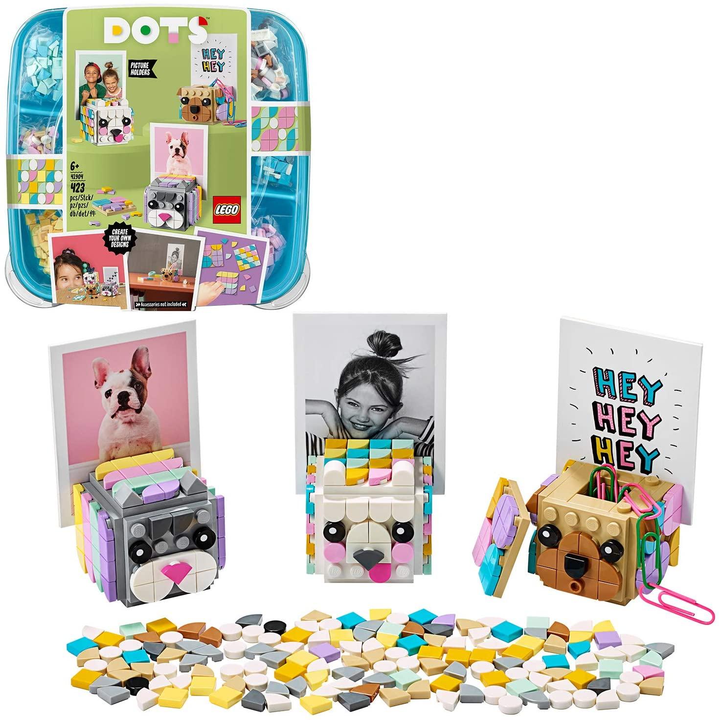 LEGO 41904 DOTS Animal Picture Holders DIY Desk Accessories Decorations Set for £7.98 (Prime) / £12.47 (Non Prime) delivered @ Amazon