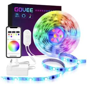 Govee WiFi DreamColour, WiFi Light strip (Alexa and GoogleHome compatible) 5m in length £25.99 / £18.19 with app Sold by Govee UK FB Amazon