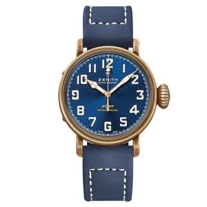 Zenith Pilot Type 20 Extra Special Bronze Automatic Men's Watch - Blue ( Also in khaki ) - £3100 delivered @ Beaverbrooks
