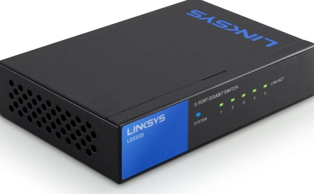 Linksys LGS105 5 Port Gigabit Unmanaged Network Switch min order 2 - £18.98 Prime / +£23.47 Non Prime @ Amazon