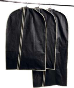 Black Set of 3 Suit Carriers - £7.99 + free click and collect at Argos
