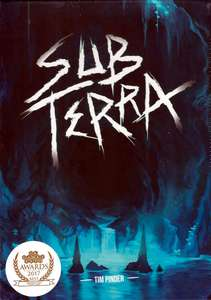 Sub Terra Board Game £24.93 with code @ playboardgames