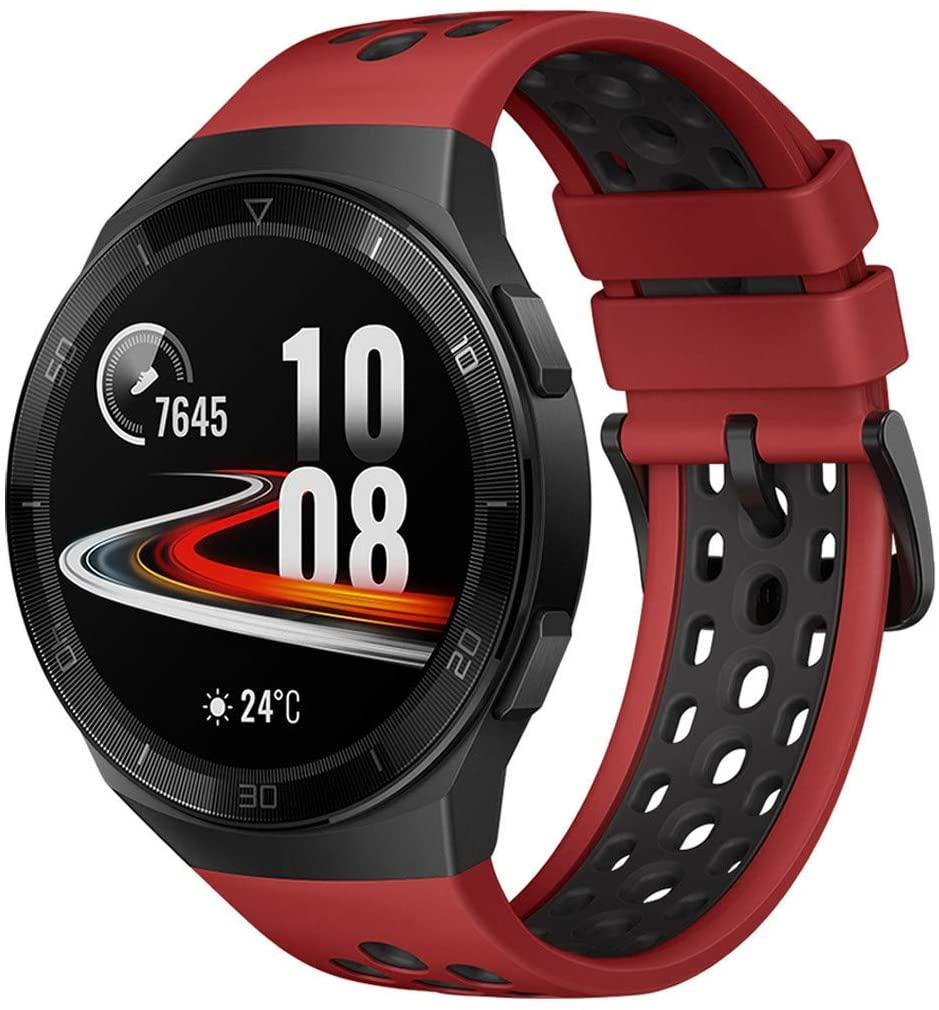 Huawei Watch GT 2e Smartwatch, 1.39 Inch AMOLED HD Touchscreen - Lava red - £123.30 @ Amazon