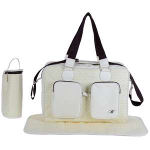 My Babiie Deluxe Changing Bag Billie Faiers Collection - Cream £11.95 + £2.95 Delivery From Online4baby