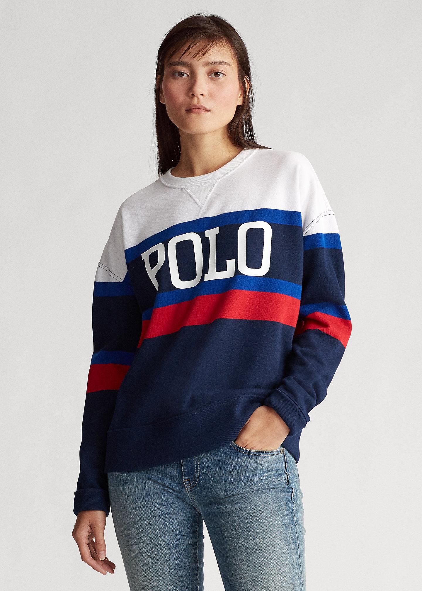 POLO by Ralph Lauren Women's Fleece Crewneck Sweater was £159.99 NOW £24.99 + £9.95 Delivery @ Ralph Lauren Shop