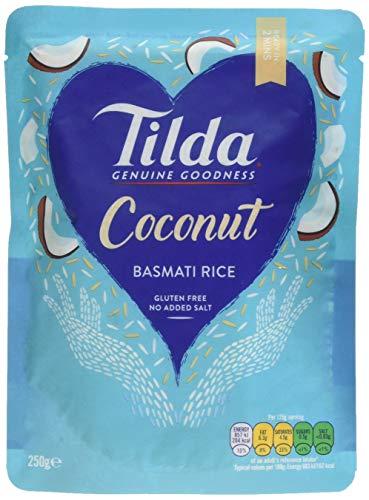Tilda Steamed Basmati Coconut 250 g (Pack of 6) £4.50 (Prime) + £4.49 (non Prime) at Amazon