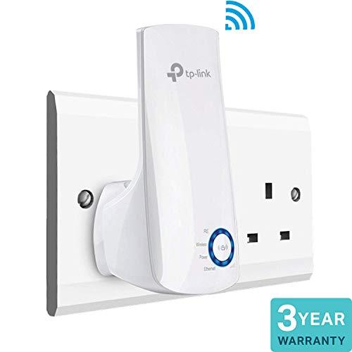 TP-Link TL-WA850RE N300 Universal Range Extender, Broadband/Wi-Fi Extender Wi-Fi Booster/Hotspot - £14.49 Prime / +£4.49 Non Prime @ Amazon