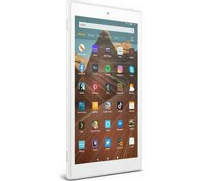 AMAZON Fire HD 10 Tablet (2019) - 32 GB White / Plum or Twilight Blue £99.75 @ Currys eBay