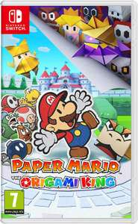 [Nintendo Switch] Paper Mario The Origami King - £38.18 - eBay/granbazaar