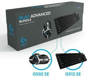 LOGITECH G512 SE Keyboard + Logitech G502 Mouse Bundle, £73.60 with code at Curry's/ebay