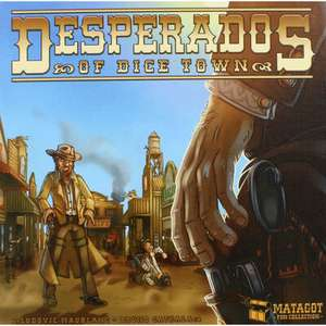 Desperados Of Dice Town Strategy Game £7.99 Delivered (Free Postage Over £30) @ The Works