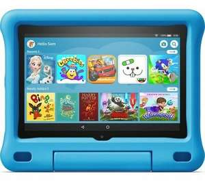 """AMAZON Fire HD 8"""" Kids Edition Tablet (2020) - 32 GB Blue / Pink - £87.39 With Code Delivered @ Currys/Ebay"""