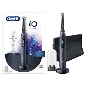 Oral-B iO8 Black Ultimate Clean Electric Toothbrush £224.99 @ Amazon