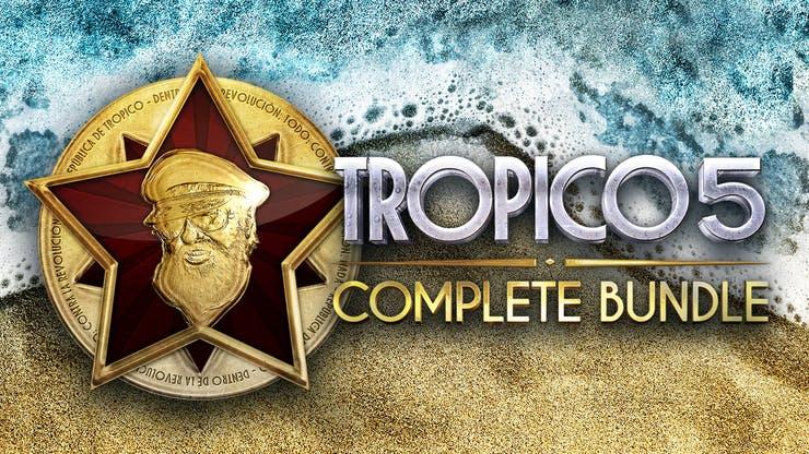 Tropico 5 Complete Bundle (PC Steam) - £8.49 @ Fanatical