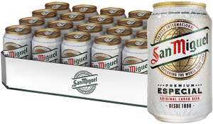 San Miguel Imported 5.4% 24x330ml cans - £16 instore @ Sainsbury's, Sutton
