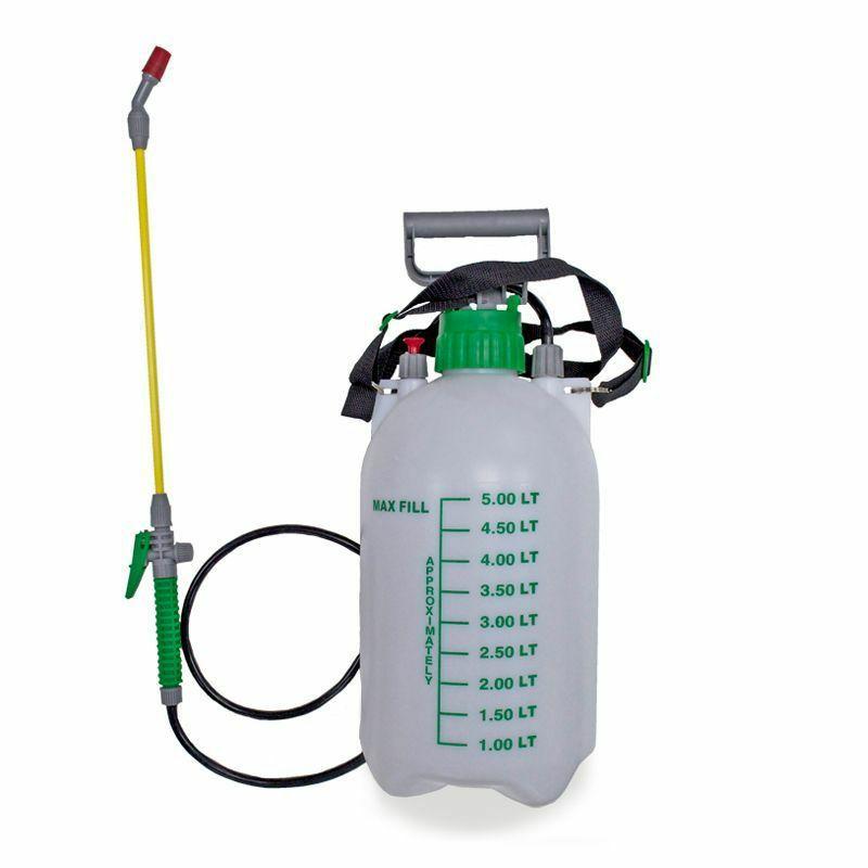 5 Litre Pressure Sprayer Bottle £6.99 Free Click & Collect @ QD Stores