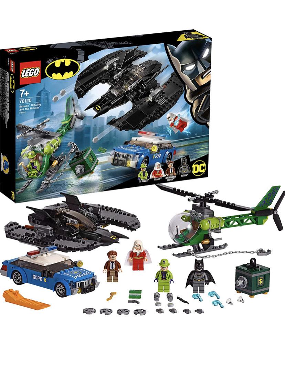 LEGO 76120 DC Batman Batman, Batwing and The Riddler Heist - £34.99 @ Amazon