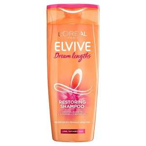 Selected L'Oreal Paris Elvive Dream Lengths Shampoo, Conditioner & Treatments - from £1.35 (C&C) @ Superdrug