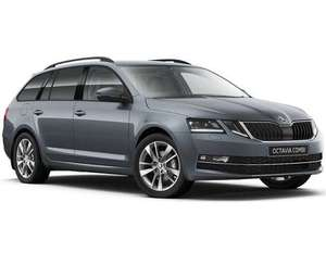 Brand new model Skoda Octavia Estate 1.5 TSi SE First Edition £239.67 pm 10k / 24 months, total £6052.08 at Yes Lease