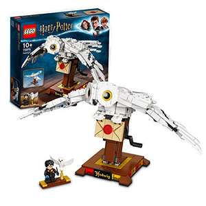 LEGO 75979 Harry Potter Hedwig the Owl Figure Collectible Display Model with Moving Wings - £31.95 delivered at Amazon
