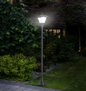 Outsunny Outdoor Garden Solar Light with Base Freestanding Energy-saving Optical - £21.59 delivered with code @ outsunny eBay