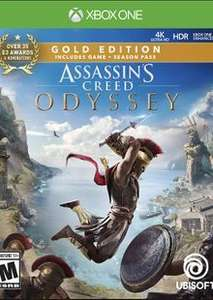 [Xbox One] Assassin's Creed: Odyssey Gold Edition Inc Base Game, Season Pass, AC III & AC Liberation Remastered - £24.49 @ CDKeys