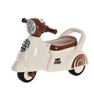 HOMCOM baby ride-on Vespa-style trike with light and horn for £23.39 delivered using code @ eBay / mhstarukltd