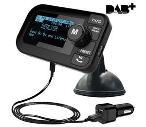FirstE Car DAB/DAB+ Radio Portable Bluetooth FM Transmitter £28.89 Sold by HiRiver and Fulfilled by Amazon