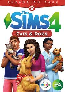 The Sims 4 - Cats and Dogs Expansion Pack PC/Mac £9.99 at CDKeys