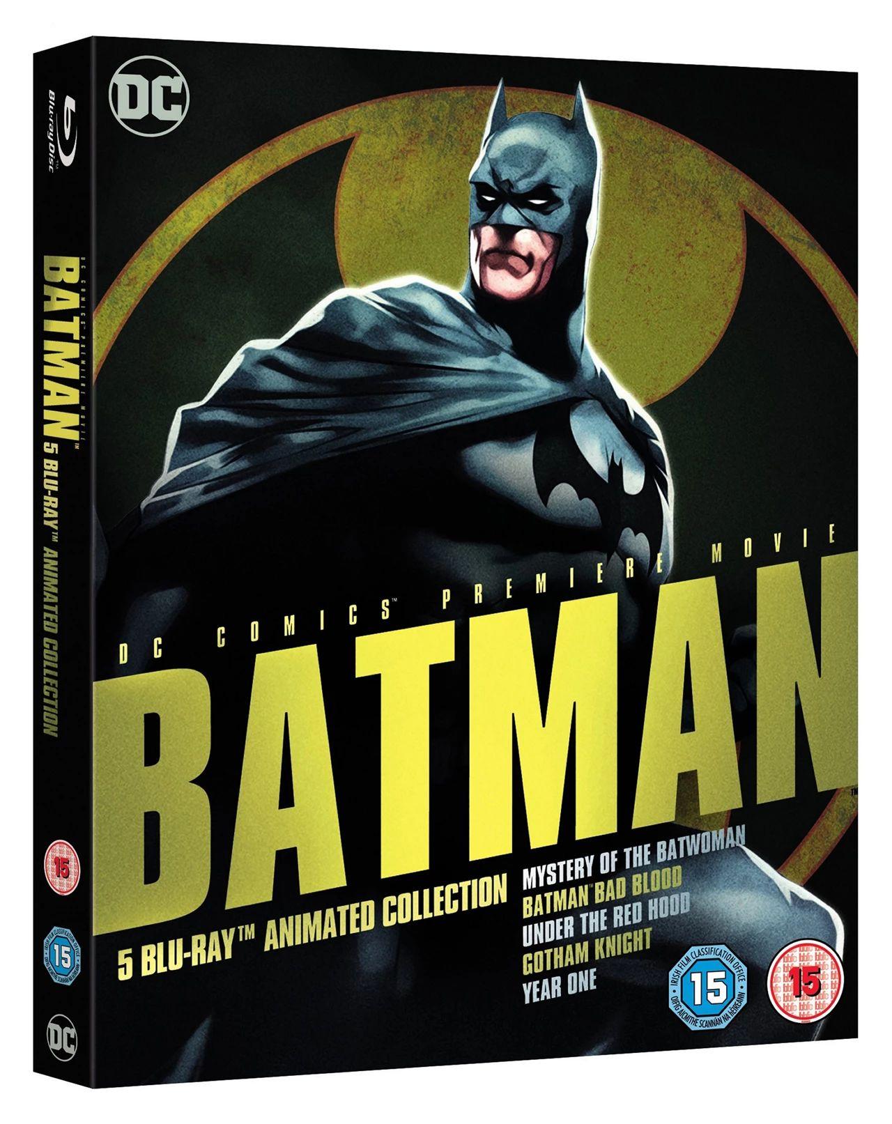 Batman:Animated collection blu ray £9.99 @ cardboardstory4/eBay