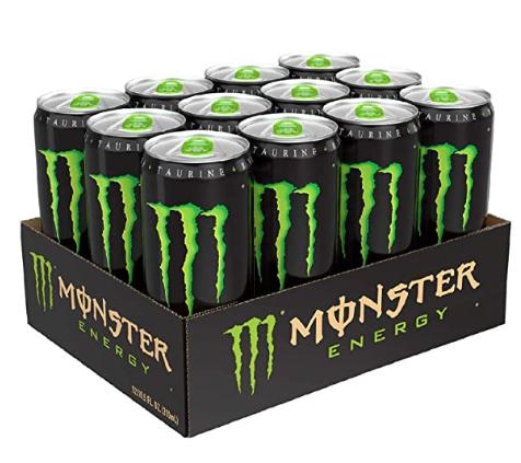 Monster original 12 case £9 @ Tesco Skegness