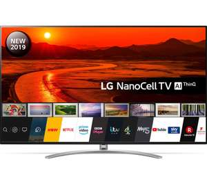 """LG 75SM9900PLA (2019) LED HDR NanoCell 8K Ultra HD Smart TV, 75"""" with Freeview Play Dolby Atmos 5 Year Guarantee £2299 @ Beyond Television"""