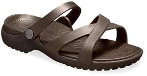 Crocs Women's Meleen Crossband Sandal Open Toe £12.50 prime / £16.99 non prime @ Amazon