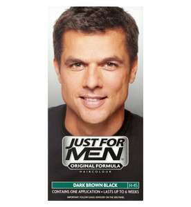 Just For Men Hair Colourant, Natural Dark Brown Black, Natural Medium Brown etc - £5.08 (+£1.50 C&C or £3.50 Delivery) @ Boots