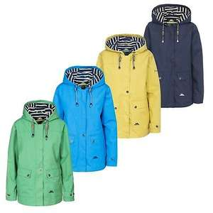 Trespass Seawater hooded waterproof rain jacket for women in various colours for £35.95 delivered using code @ eBay / warwickshireclothing