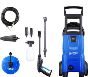 Nilfisk Compact C125.7-8 Maintenance Pressure Washer Set (includes Patio Cleaner / Drain Cleaner / Soft Brush) - £99.99 delivered @ Costco