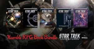 Humble RPG Bundle: Star Trek Adventure RPG- 79p Onwards @ Humble Bundle