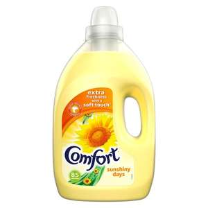 Comfort Sunshiny Days / Pure and Blue Fabric Conditioner 85 Wash 3L - £3 @ Tesco