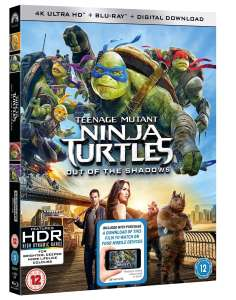 Teenage Mutant Ninja Turtles: Out of the Shadows (4K Ultra HD + Blu-ray + Digital Download) £7.10 @ Zoom