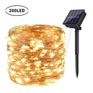 DeepDream Solar Fairy Lights Outdoor, 72ft/20m £8.61 (NP + £4.49) Sold by DeepDream Inc. and Fulfilled by Amazon