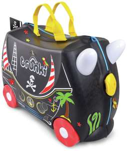 Trunki Pedro Pirate 4 Wheel Hard Ride On Suitcase for £20 delivered @ Amazon