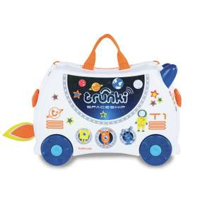 Trunki Skye the Spaceship Glow in the Dark or Pedro Pirate 4 Ride-On Suitcase for £20 @ Argos (free click and collect)
