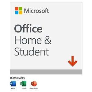 Microsoft Office 2019 Home Lifetime license 1 User PC or Mac - download £83.99 Amazon