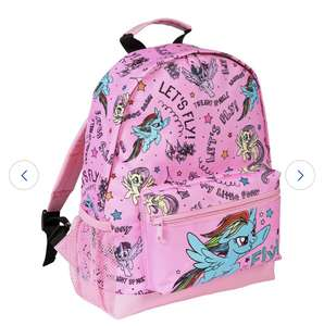 Kids Backpacks £7.50 e.g My Little Pony 8L Backpack Now £7.50 Free click & collect also Thomas / Batman @ Argos
