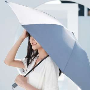90FUN Portable Fully Automatic Reverse Folding Lighting Umbrella Anti-UV UPF50+ Windproof Umbrella £11.27 @ geekbuying